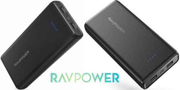 batterie-externe-ravpower-element-series-20000-mah