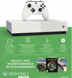 Xbox One S All Digital Edition prix