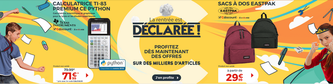 promotions-rentree-scolaire-cdisount