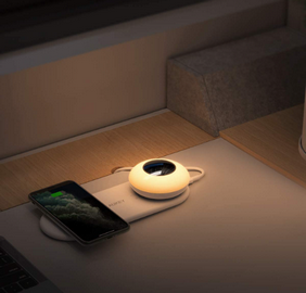 chargeur-qi-lampe-chevet-aukey