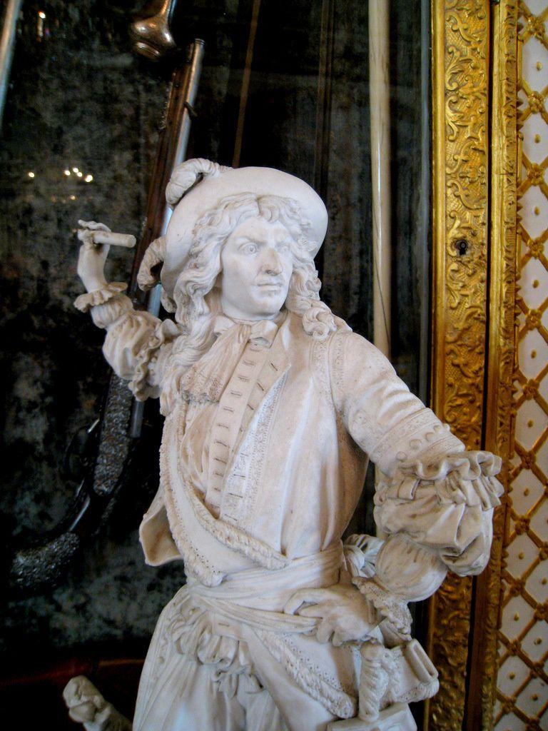 Statuettes du Grand Condé, château de Chantilly