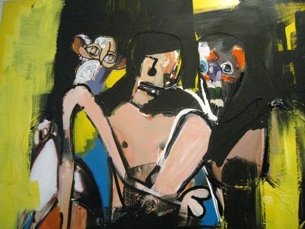 Expressionist Orgy, George Condo