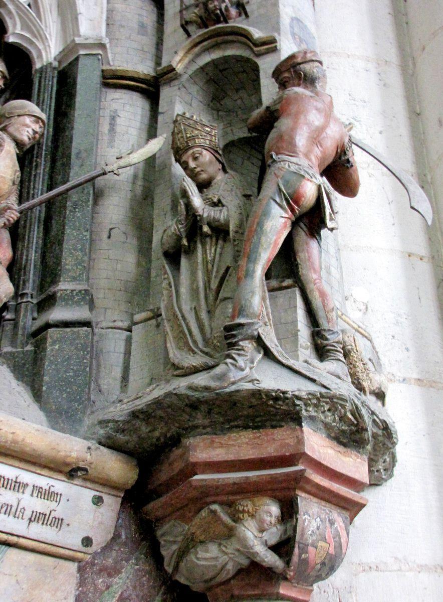 Histoire de Saint Firmin le martyr (2/2), cathédrale d'Amiens