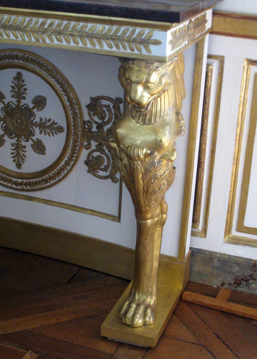 Mobilier du salon de Musique du château de Chantilly