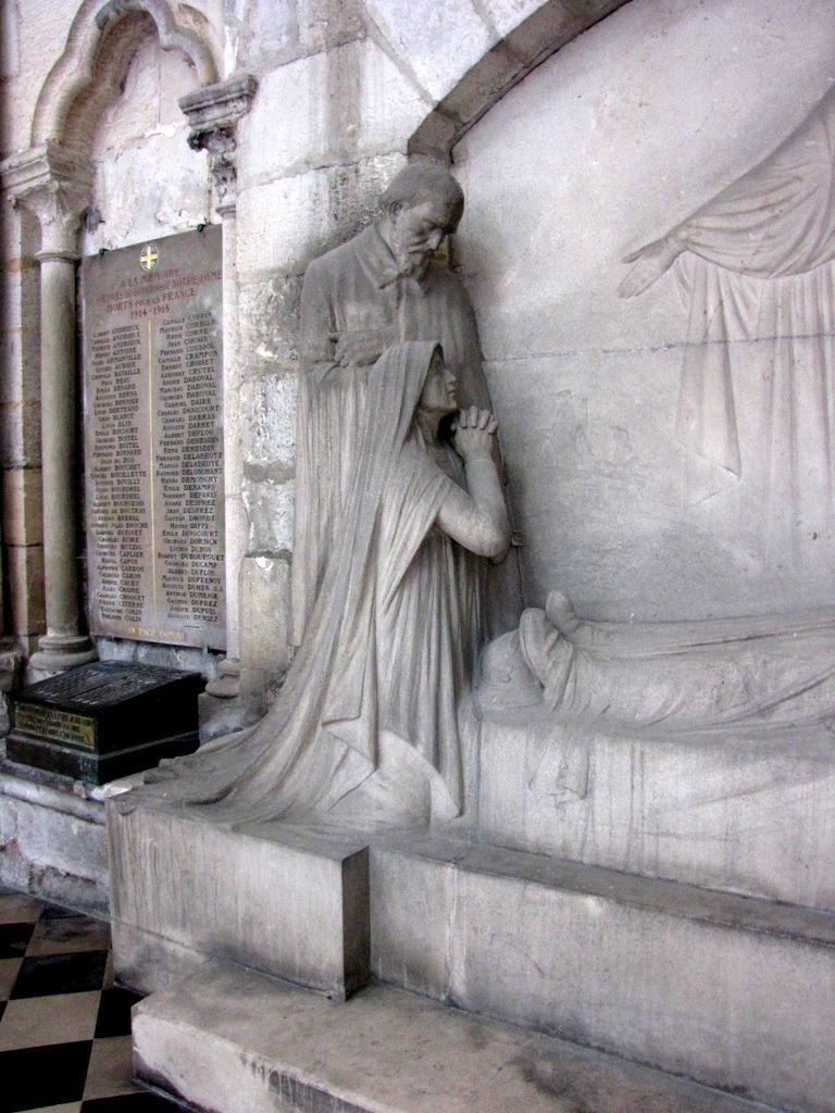 In memoriam, cathédrale d'Amiens