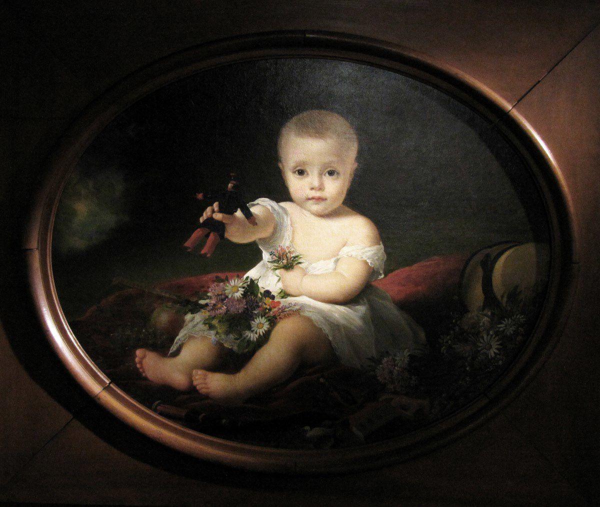 Alexis Pérignon, portrait du fils de Rose chéri (musée du jouet de Poissy)
