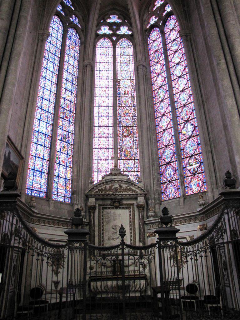 Chapelle Saint-Nicaise (St François d'Assise), cathédrale d'Amiens