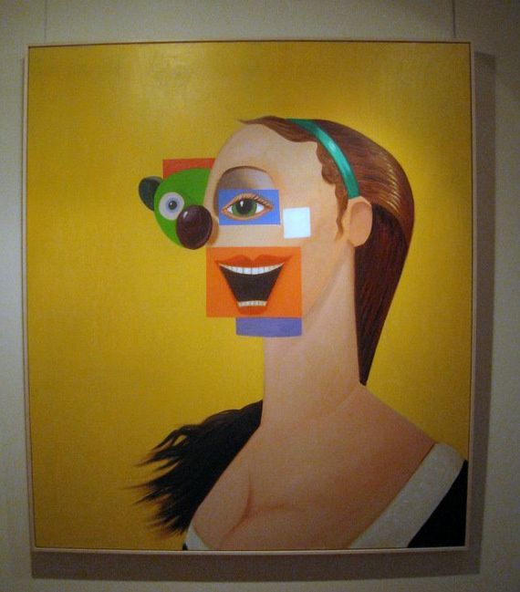 A commercial Approach to Abstract Painting (2006), George Condo