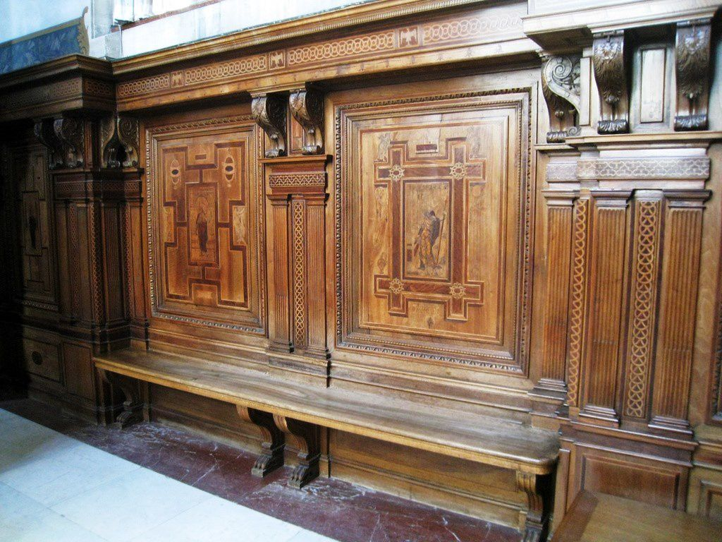 Boiseries de la chapelle du château de Chantilly