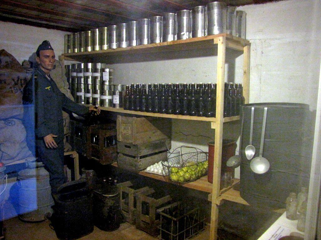 Soute à munitions , batterie de Crisbeck (Saint-Marcouf)