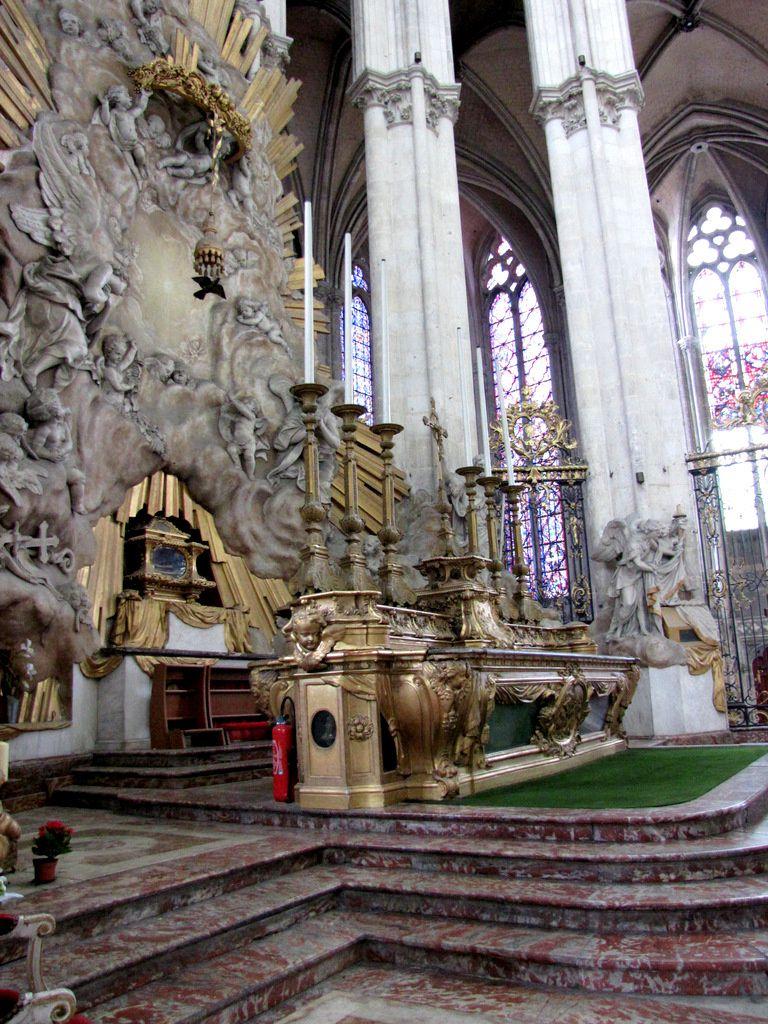 Le choeur de la cathédrale d'Amiens