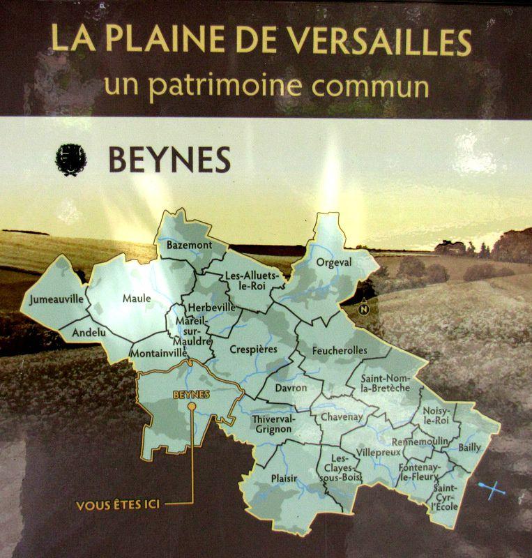 Château de Beynes, les tours