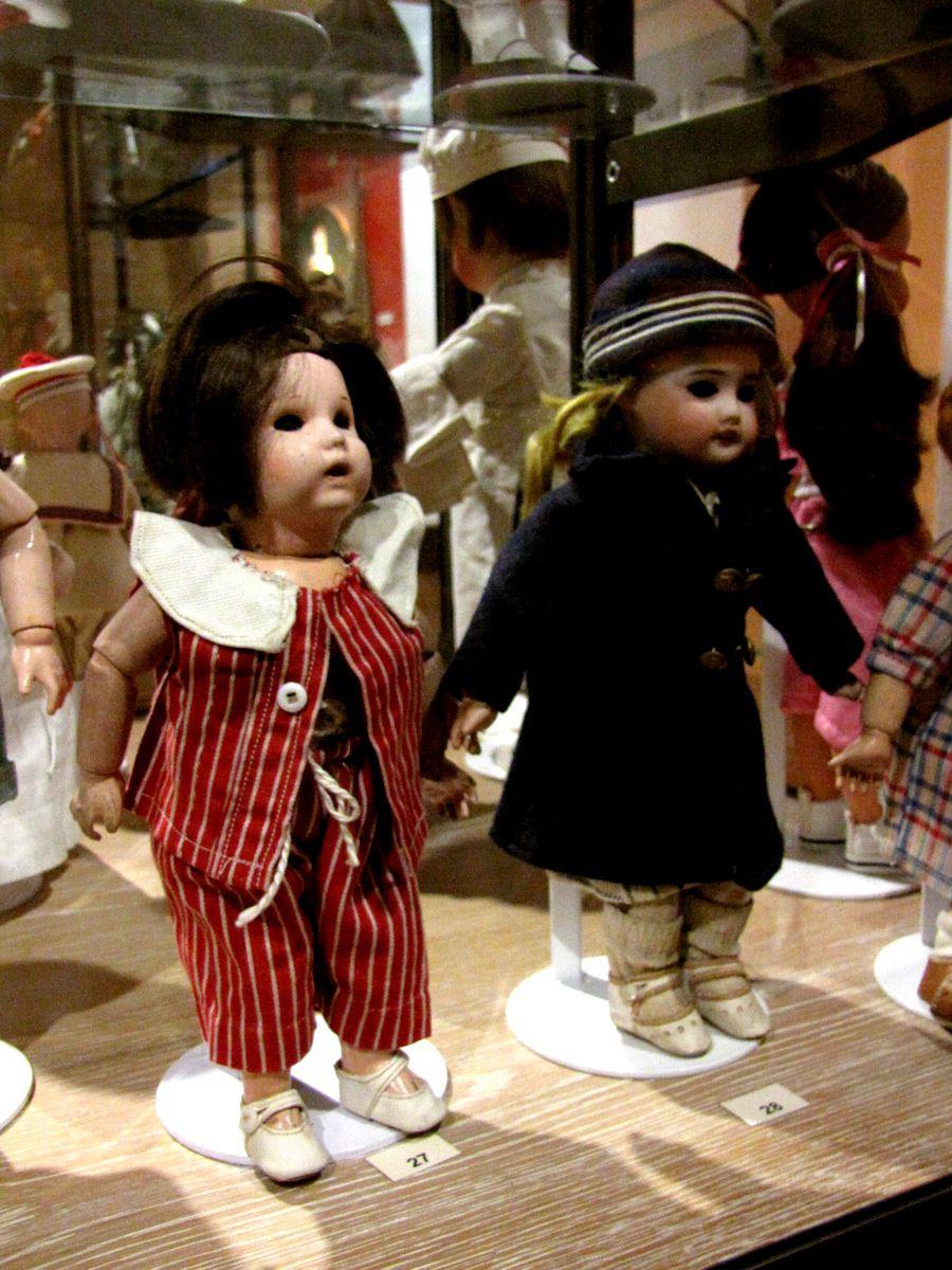 Poupées Bleuette, musée du jouet de Poissy