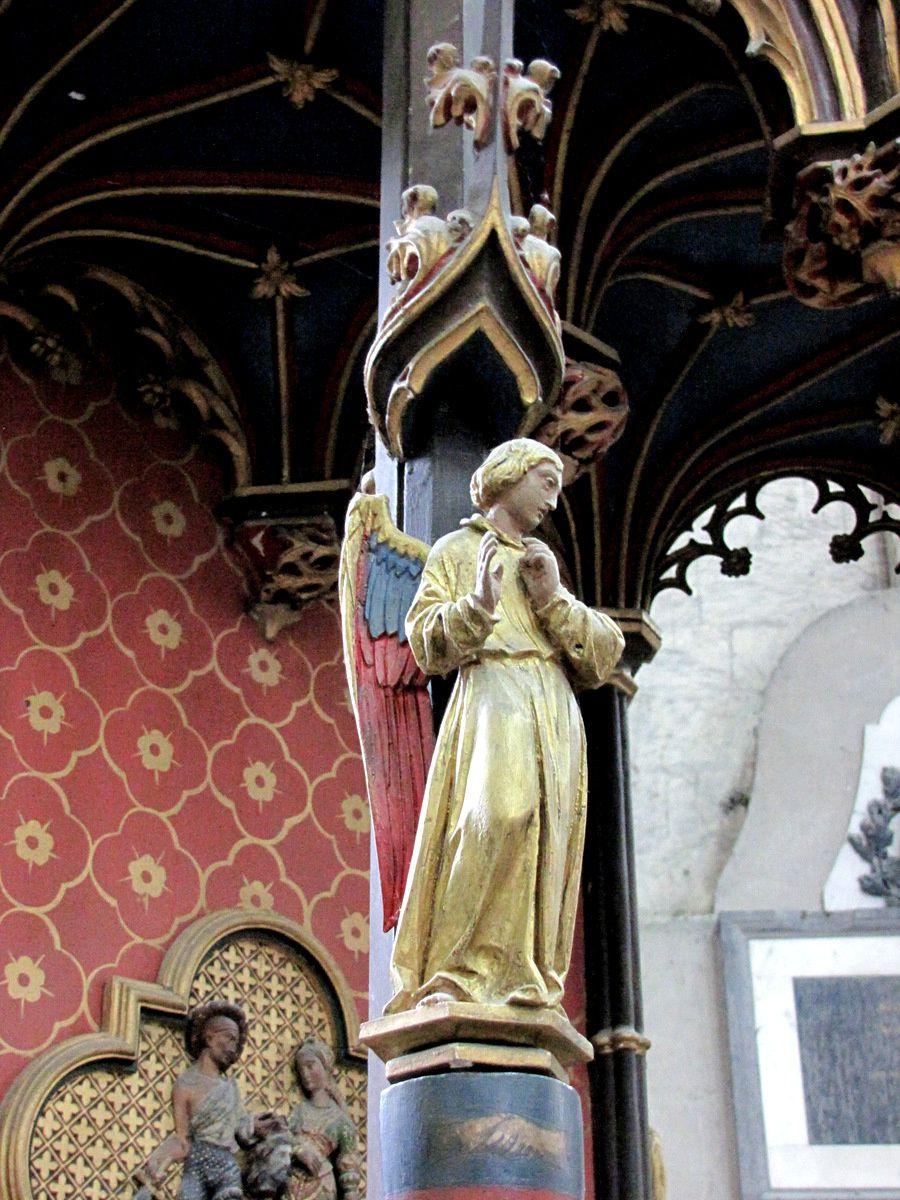 Relique de saint Jean Baptiste (éclat d'os crânien), cathédrale d'Amiens