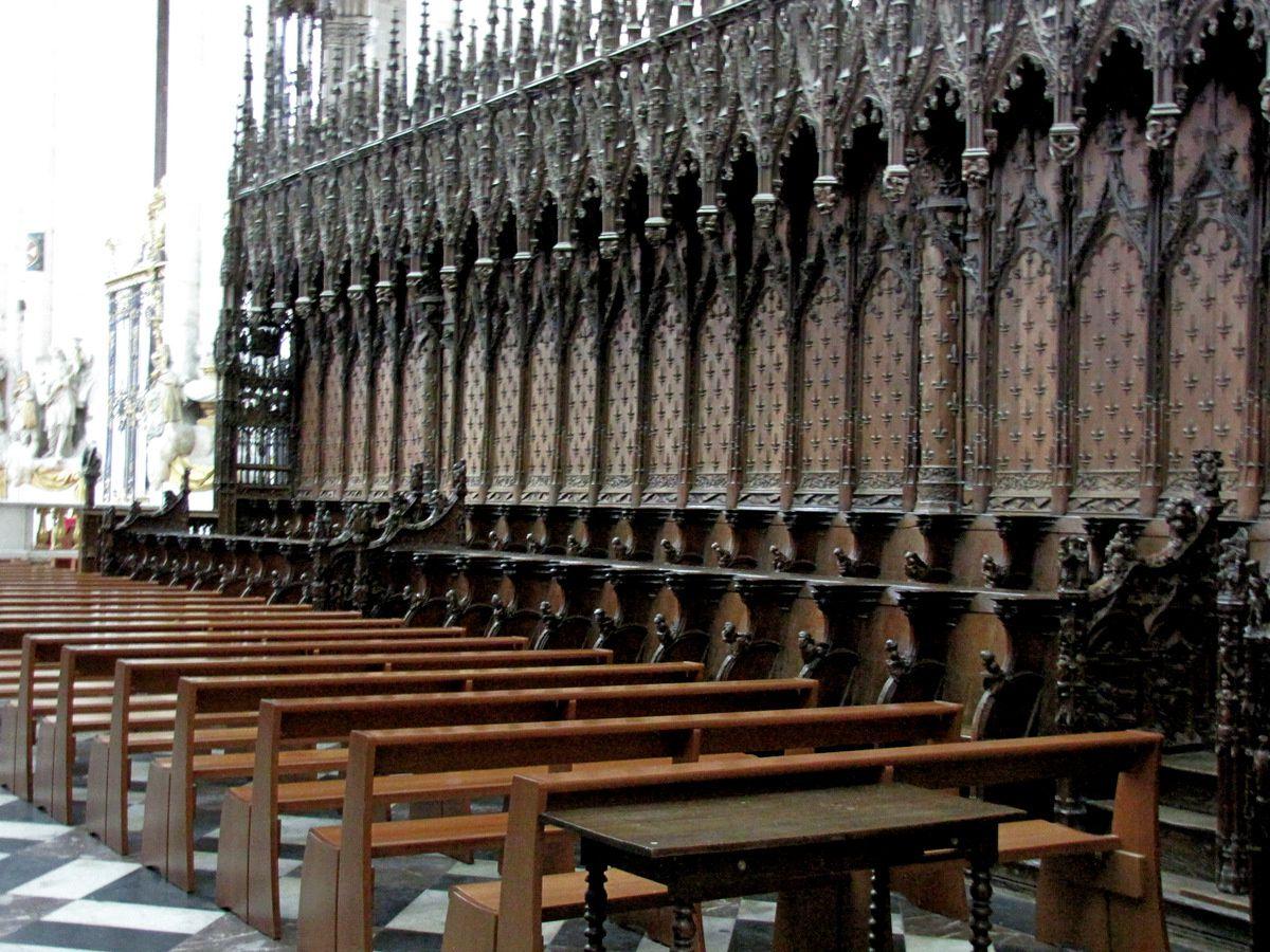 Stalles du chapitre de la cathédrale d'Amiens