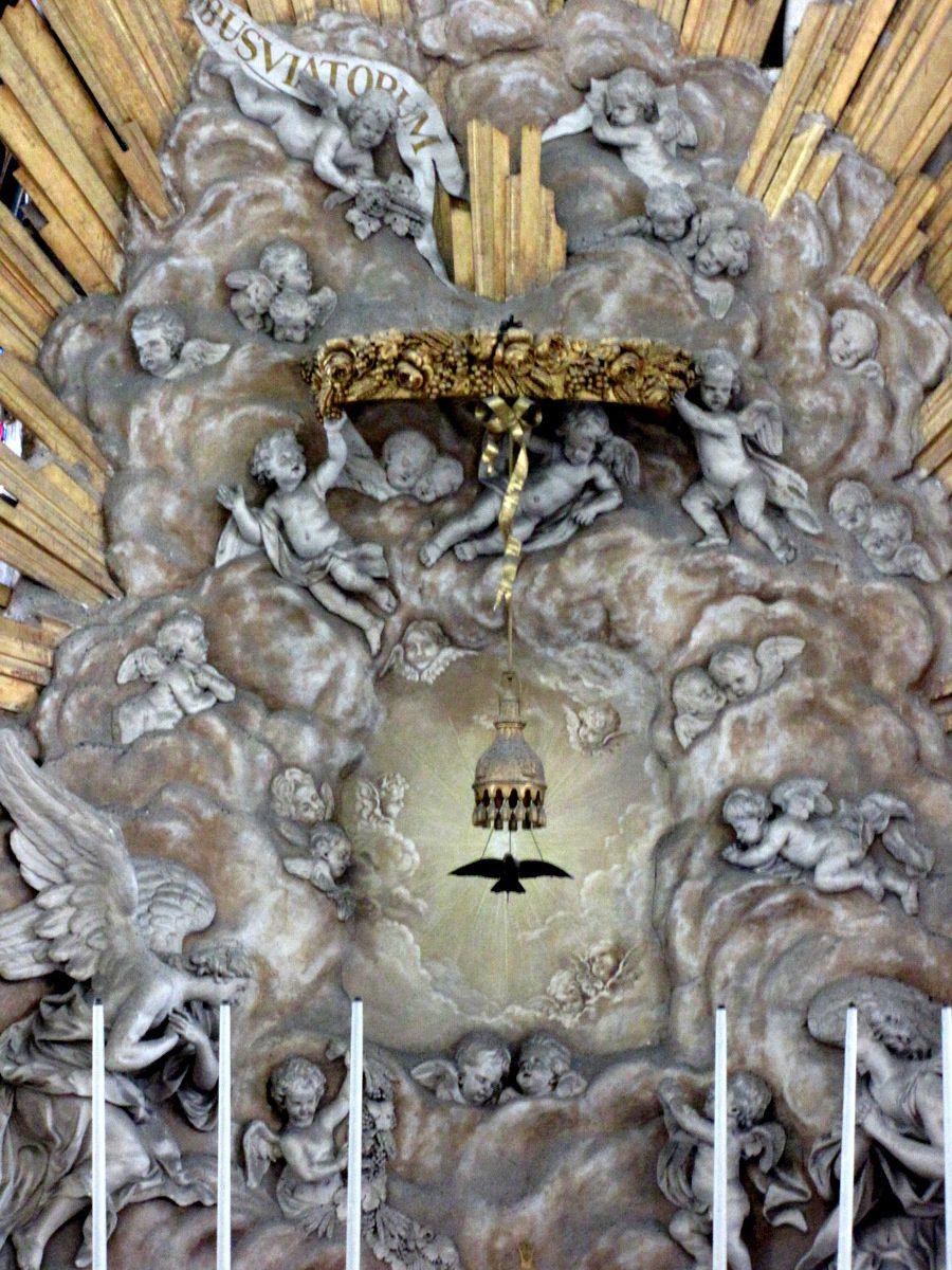 Sanctuaire de la cathédrale d'Amiens