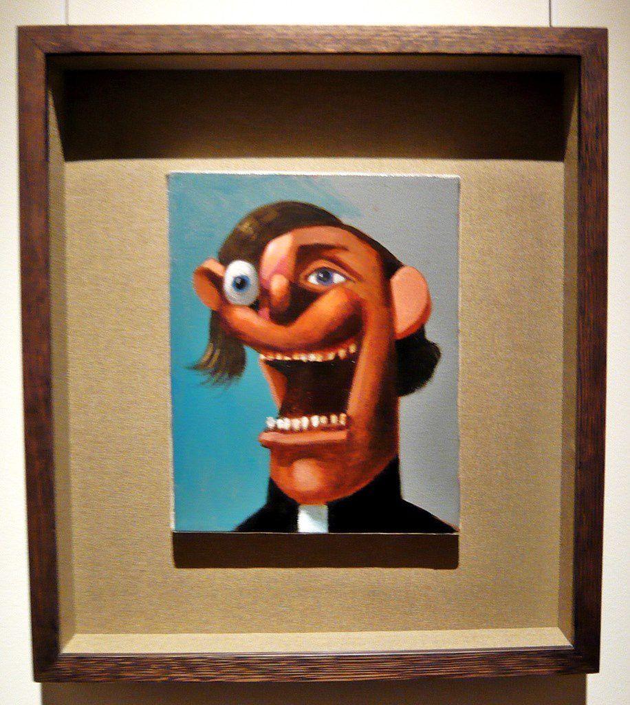 Laughing Priest (2004), George Condo