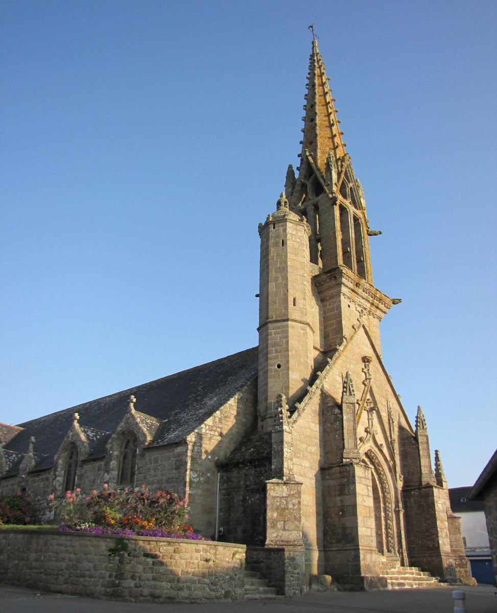 Saint Onneau et Saint Herbot, église d'Esquibien