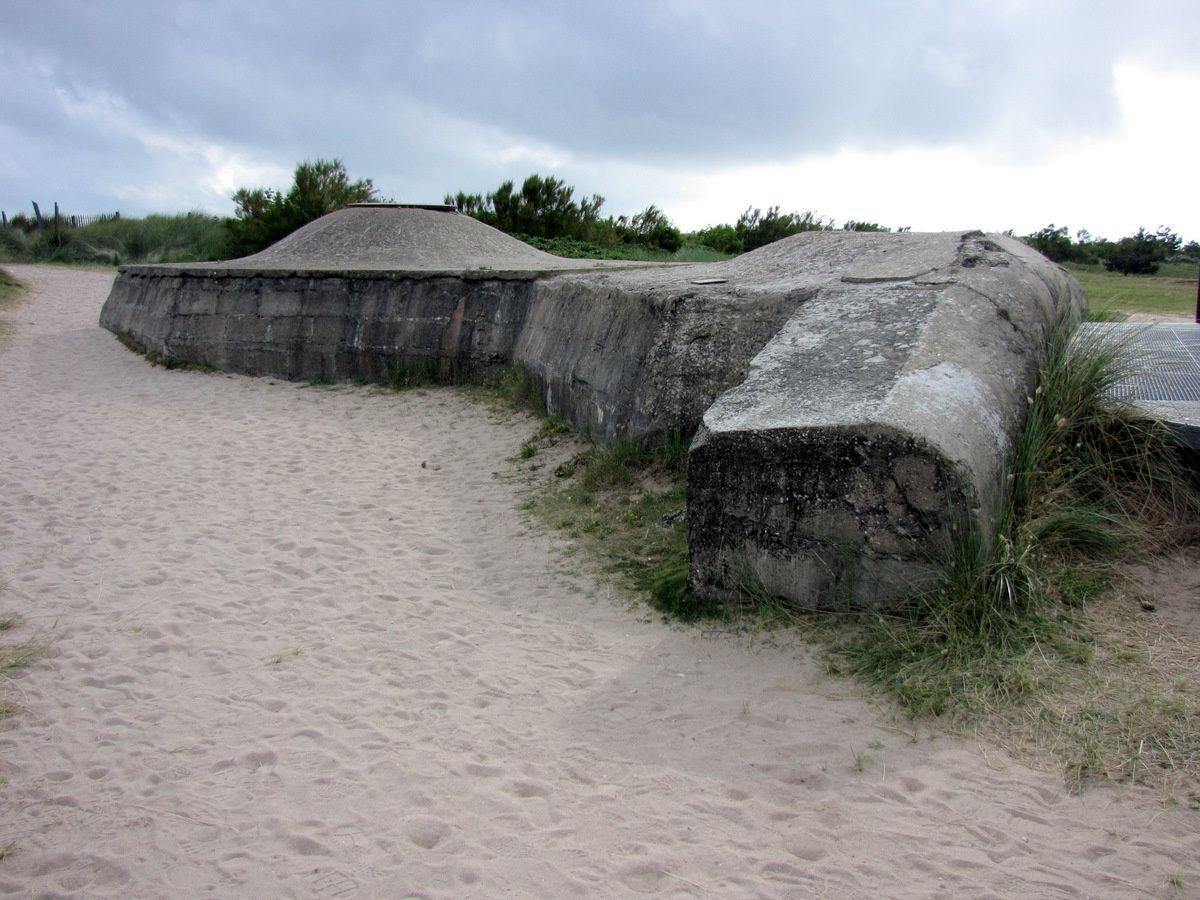 Le mur de l'Atlantique à Courseulles-sur-Mer