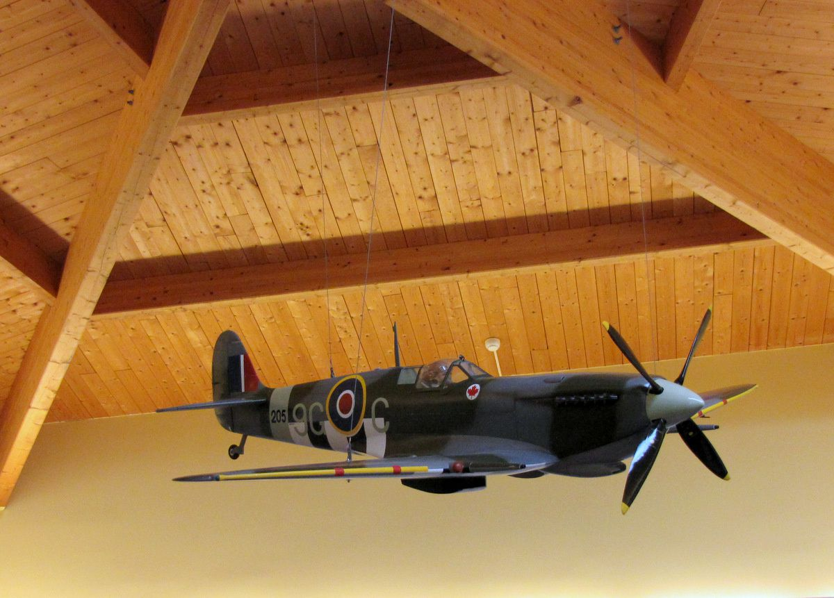 Spitfire supermarine, centre Juno Beach