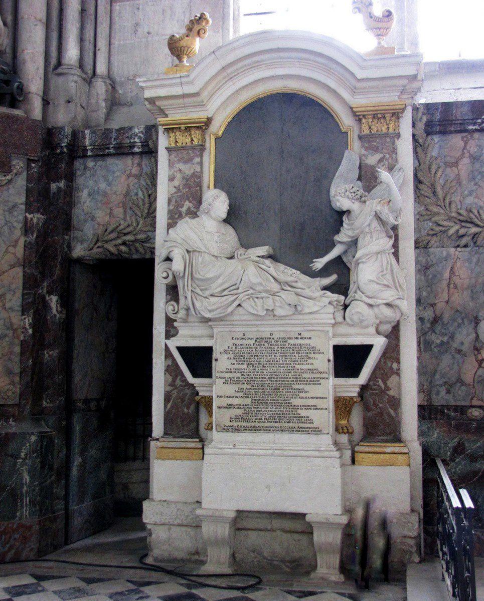 Tombeau de François Faure, cathédrale d'Amiens