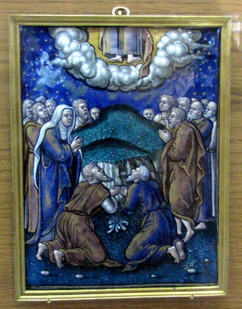 Atelier de Pierre Reymond, l'Ascension du Christ