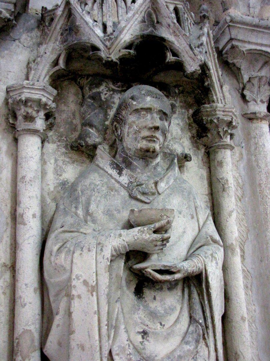 Tombeau de Jean-François de Mandolx, cathédrale d'Amiens