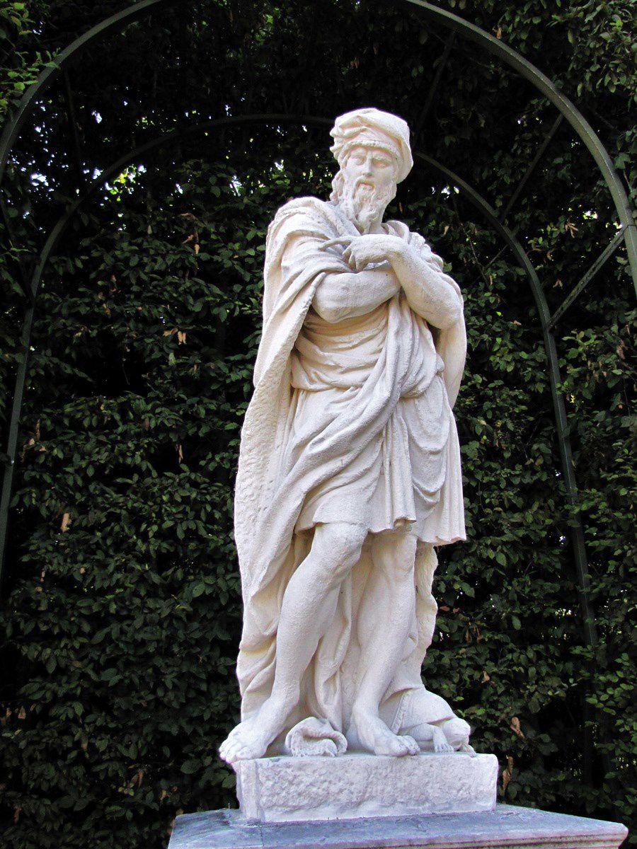 Matthieu Lespagnandelle, le Flegmatique (statue)