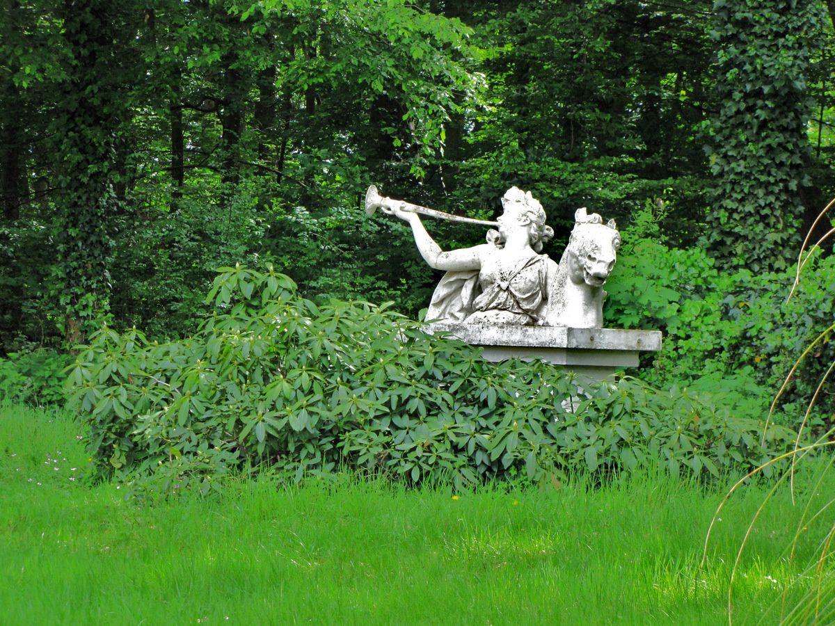 Le cavalier à la trompette du Musée-Promenade de Marly-le-Roi