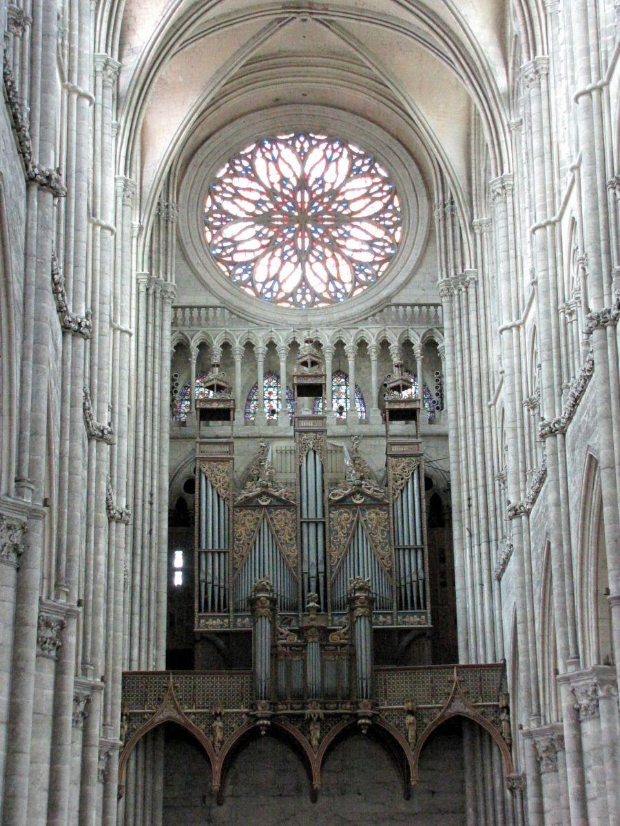 L'orgue de la cathédrale d'Amiens