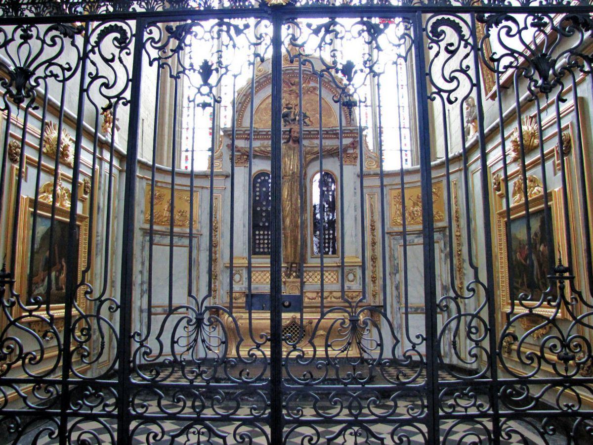 Chapelle Saint Michel (1/2), cathédrale d'Amiens