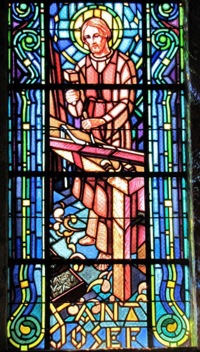 Vitraux de l'église de Plovan (2/3)