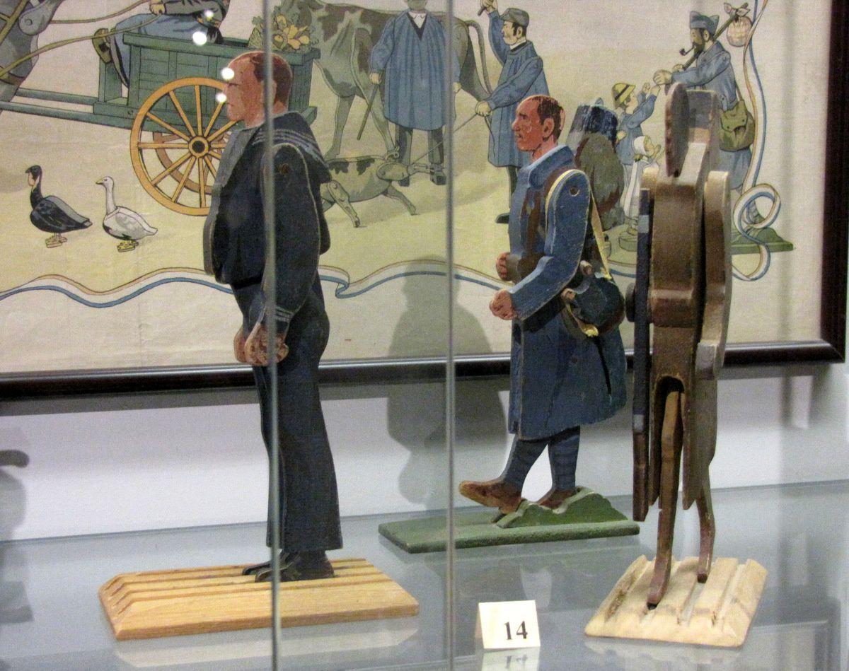 Soldats italiens (1900), musée du jouet de Poissy