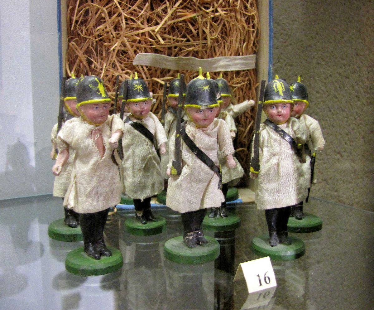 Soldats prussiens, musée du jouet de Poissy