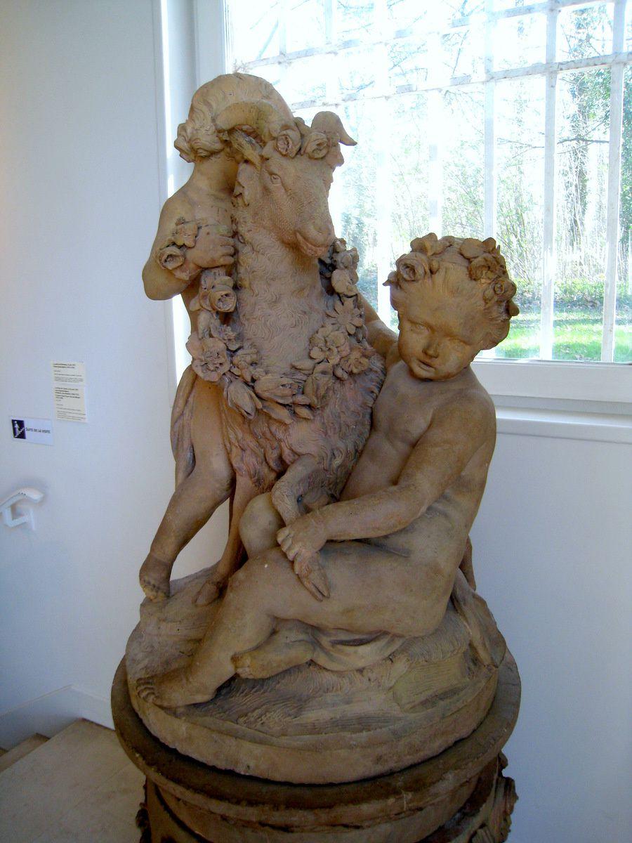 Les enfants à la chèvre, musée-Promenade de Marly-le-Roi