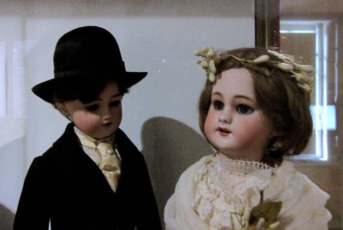 Mariés et bleuette, musée du jouet de Poissy