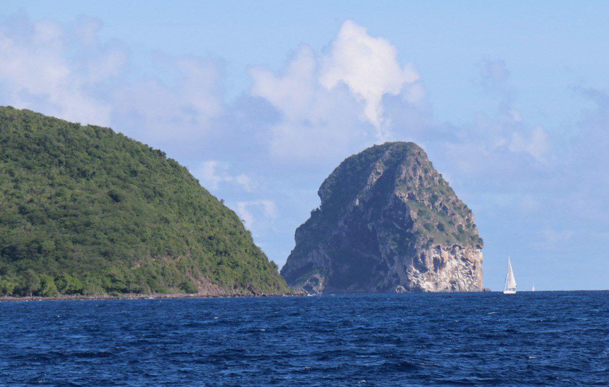 Le rocher du Diamant, Martinique