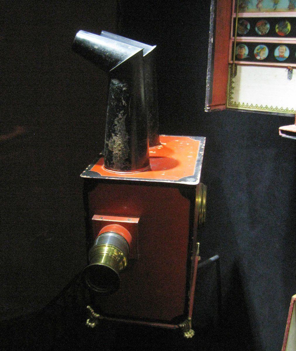 Lanternes magiques, musée du jouet de Poissy