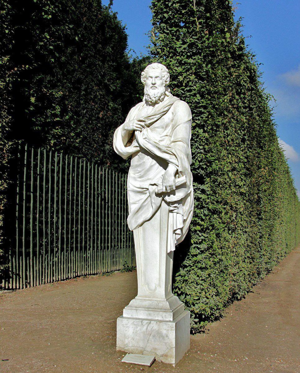 Pierre Granier, statue d'Isocrate