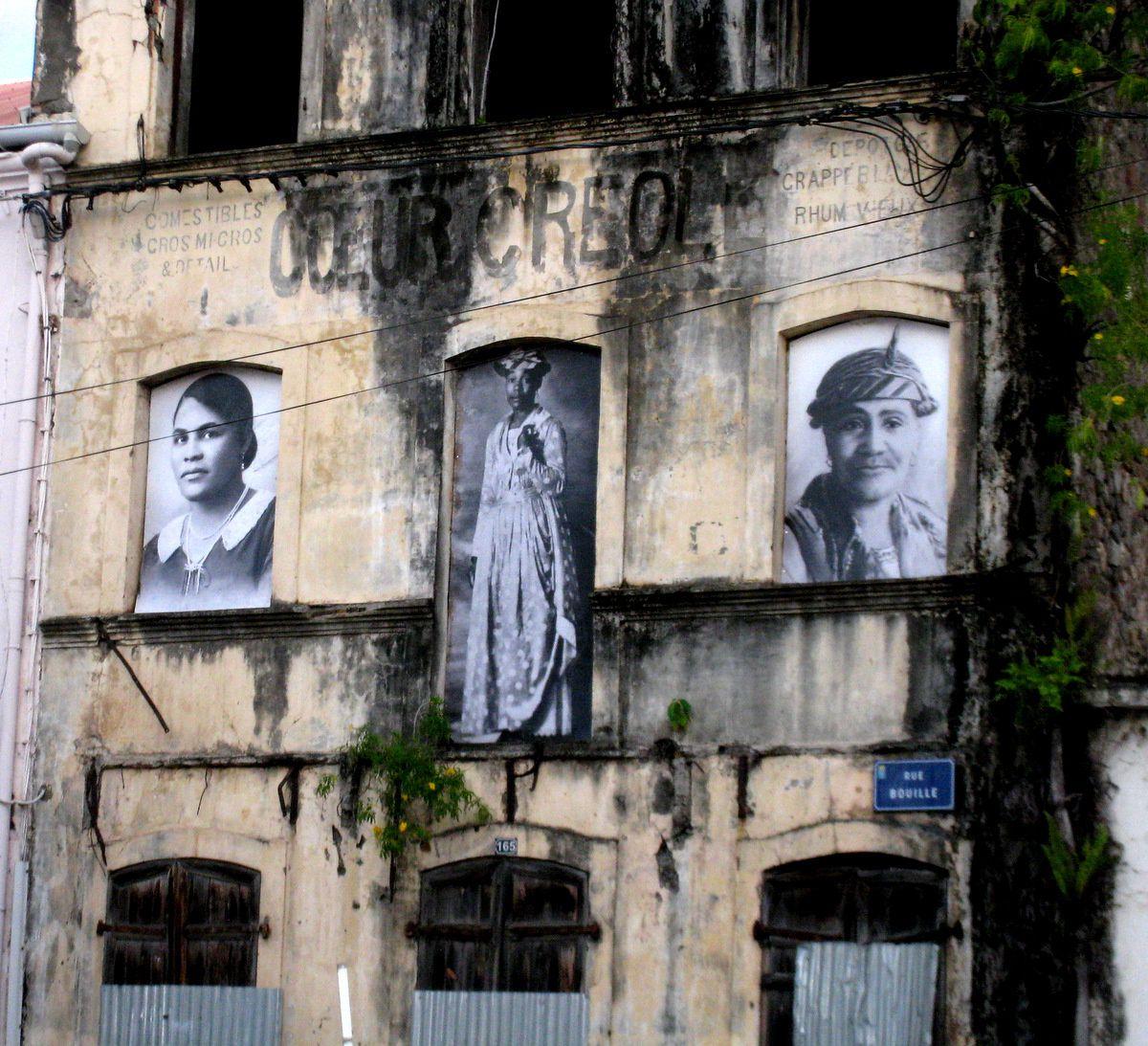 Vestiges du théâtre, St Pierre (Martinique)
