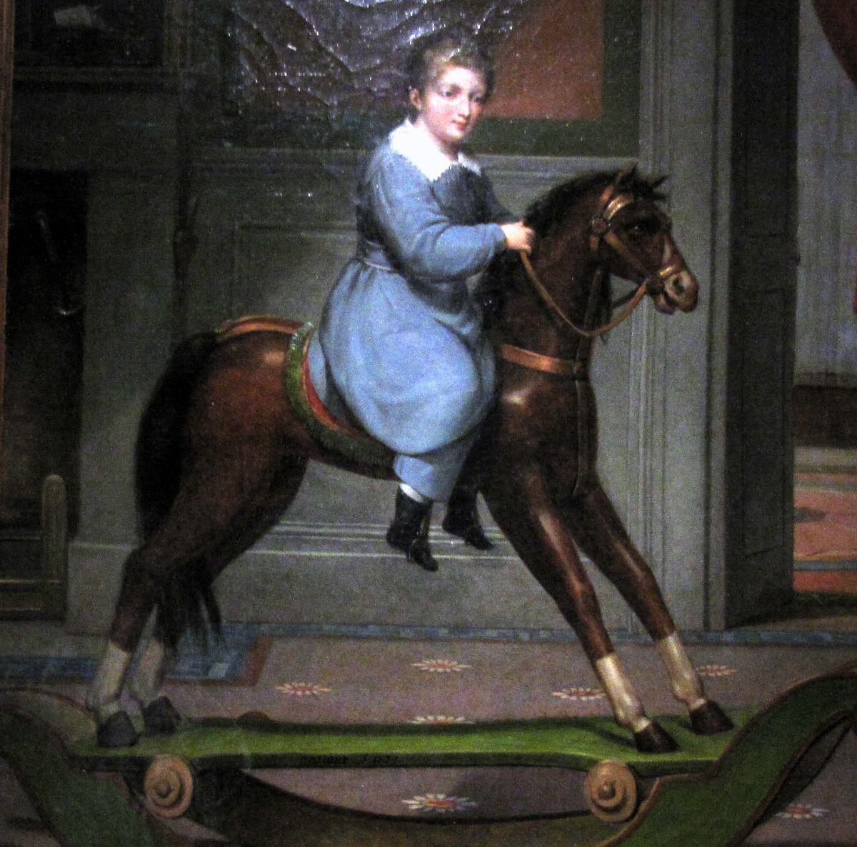 Le cheval à bascule, Antoine Ansiaux