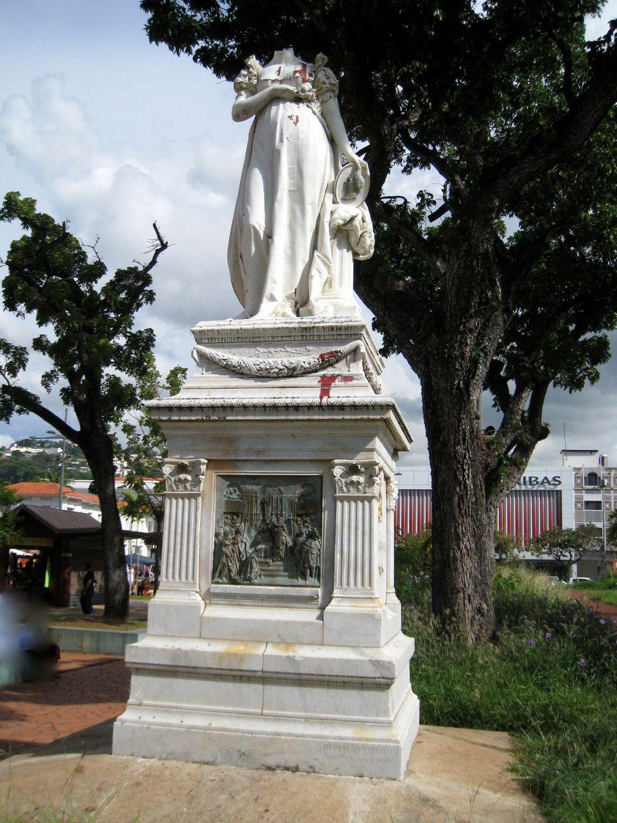 Statue de Joséphine, Fort de France