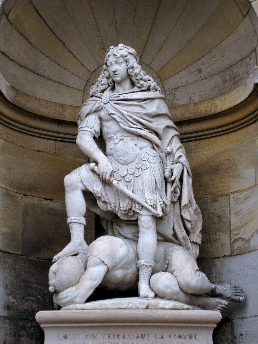 Louis XIV terrassant la Fronde