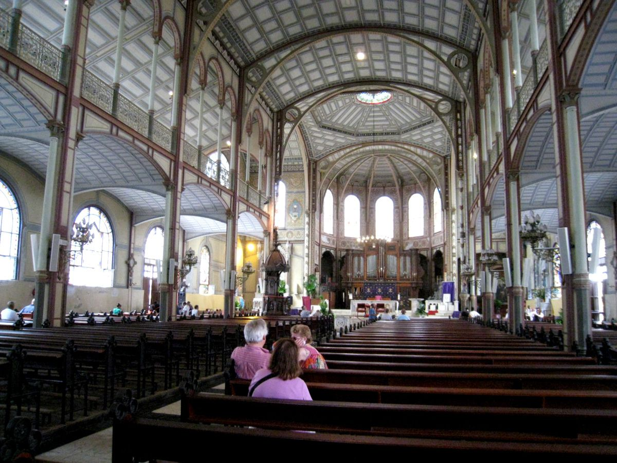 La cathédrale de Fort-de-France, Martinique
