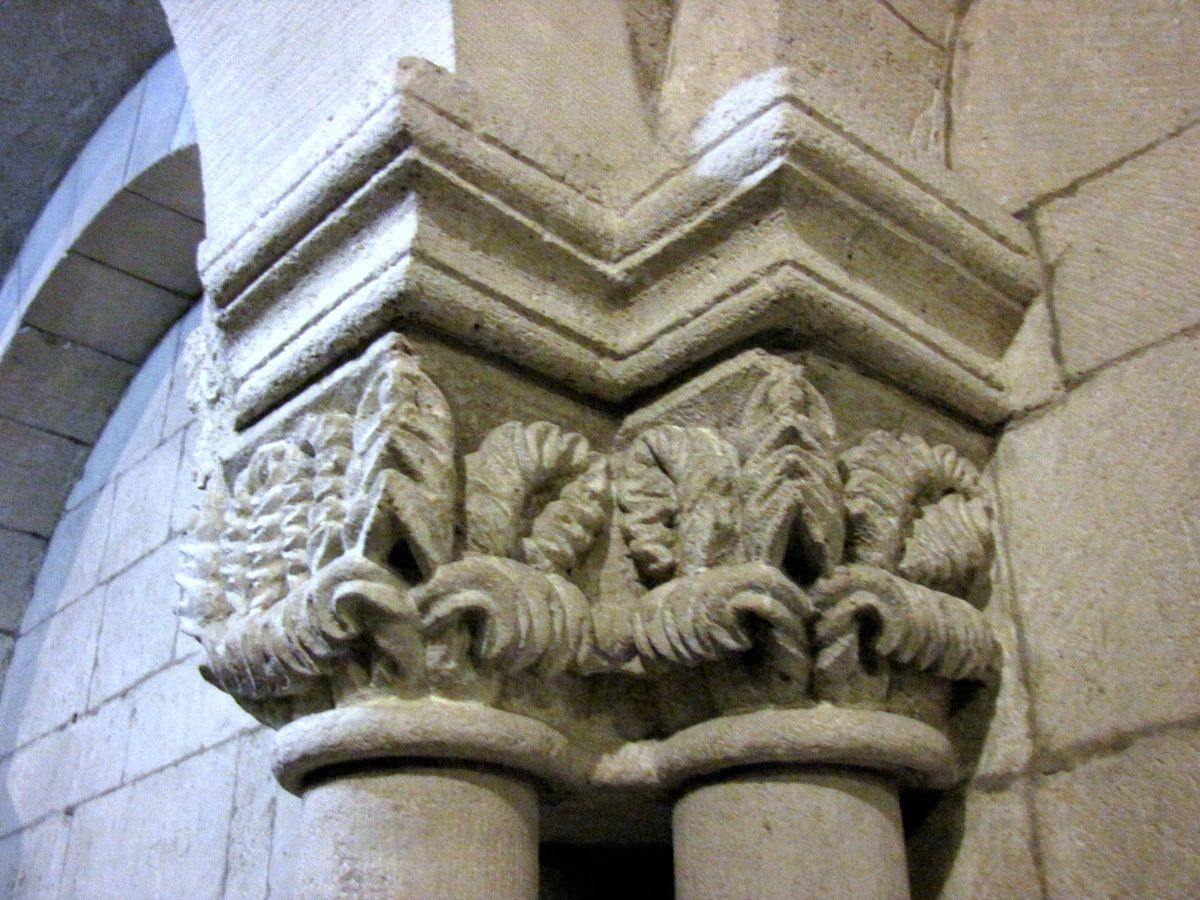 La crypte de la cathédrale de Verdun