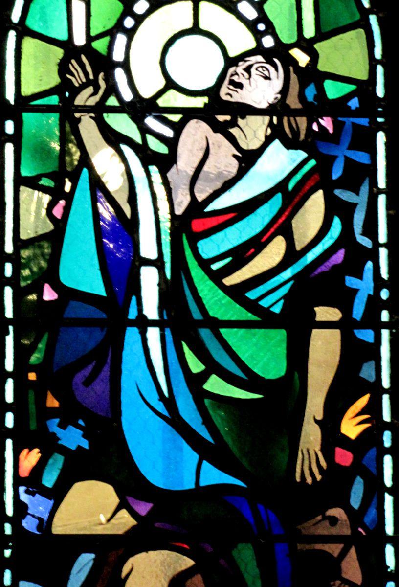 Vitraux de la crypte de la cathédrale de Verdun (1/3)
