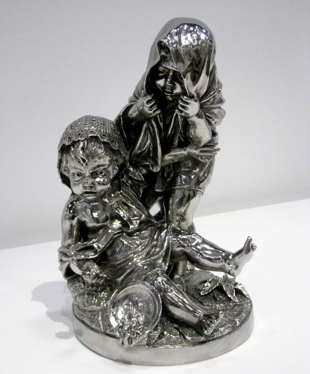 Deux Enfants (Two Kids) par Jeff Koons