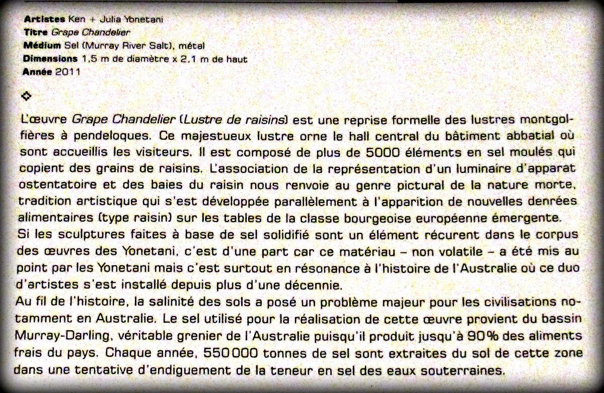 Un autre rêve (4/4), exposition de Ken et Julia Yonetani (Abbaye de Maubuisson)
