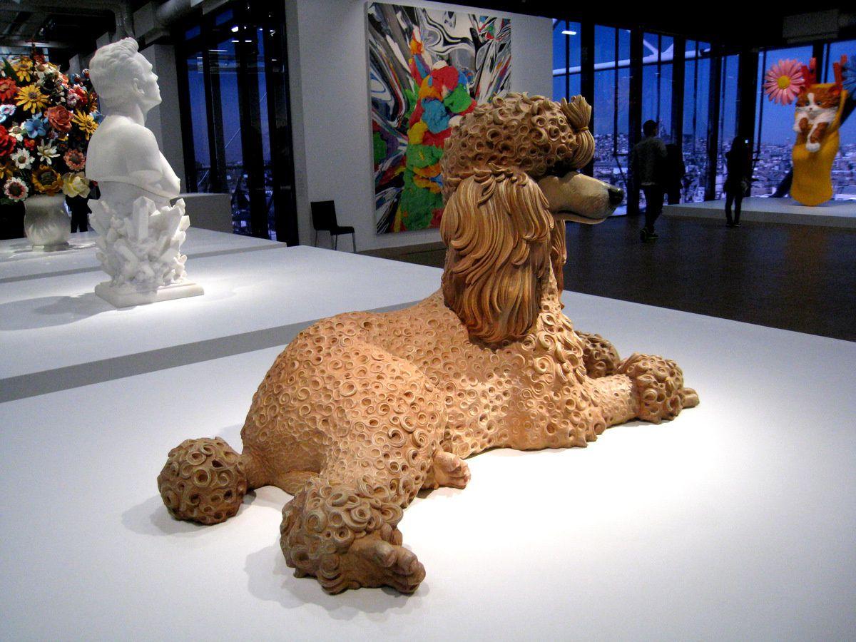 Poodle (caniche) par Jeff Koons