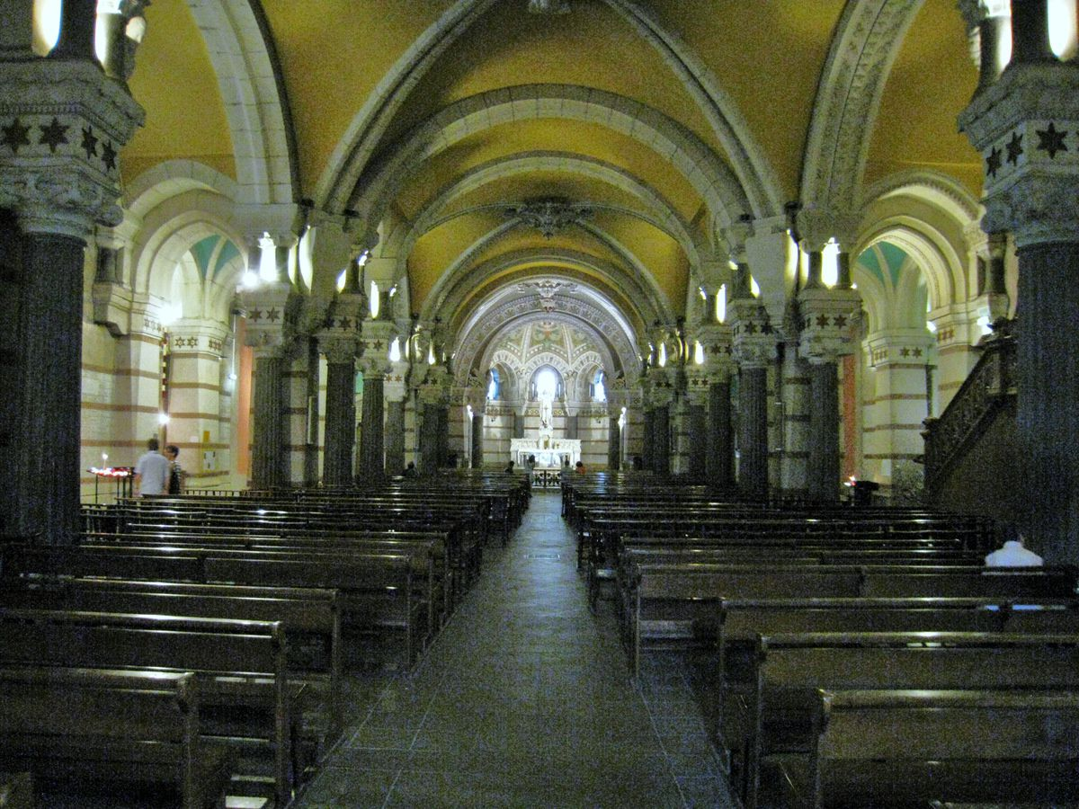 La Crypte de la Basilique de Fourvière (2/3), mosaïque de Larissa Perekrestova